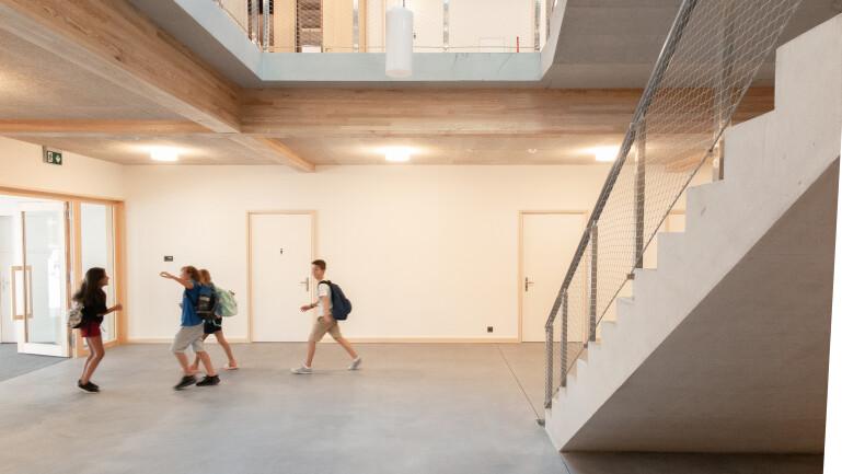 Türen - Neubau Primarschule Gachnang