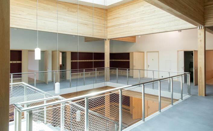 Türen in Holz - Neubau Primarschule Gachnang